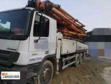 出售13年出厂14年上牌中联奔驰49米泵车