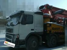 转让2010年三一沃尔沃底盘48米泵车
