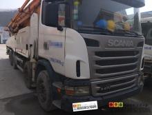 出售13年出厂中联斯堪尼亚63米泵车