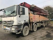车主直售16年国四三一奔驰C8系列54米泵车