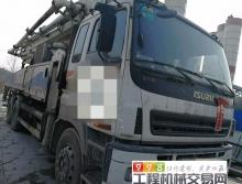 出售10年10月出厂中联五十铃47米泵车