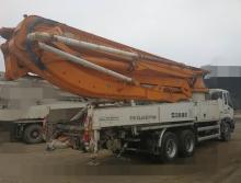 出售13年中联五十铃47米泵车