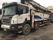 出售12中联斯堪尼亚56米泵车