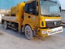 打包出售10年鸿得利欧曼10012车载泵及07年两台中联8016拖泵