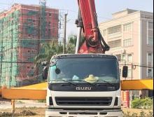 车主直售2010年三一五十铃40米泵车(靠谱车源)