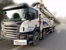 精品出售2011年中联斯堪尼亚52米泵车