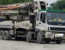 出售09年中联五十铃46米摆腿泵车