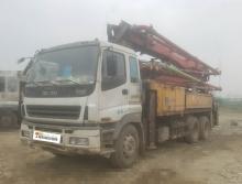 出售08年大象五十铃37米泵车