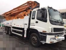 精品出售2014年中联五十铃47米泵车