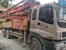 出售12年大E系列三一37米泵车