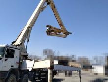 出售10年中联奔驰48米泵车