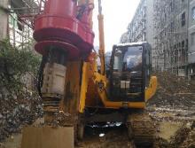 山东利达17年旋挖钻机