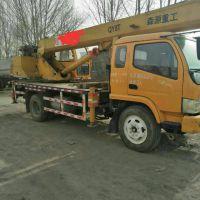 转让森源重工2012年森源8吨吊车