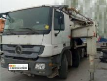 精品转让2012年中联奔驰底盘52米泵车