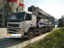 出售09年8月中联沃尔沃50米泵车