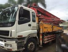 出售10年底三一五十铃37米泵车