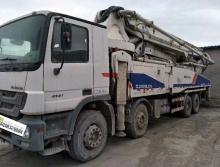 底价出售12年出厂中联奔驰52米泵车(无手续)