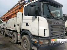 出售14年中联斯坦尼亚63米泵车