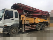 出售10年三一五十铃46米泵车