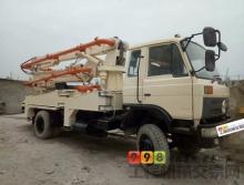 出售13年12月楚天东风27米泵车