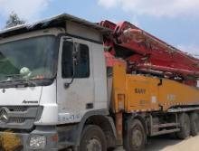 三一重工2011年52米泵车