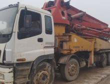 出售2007年三一五十铃45米泵车(绿标)
