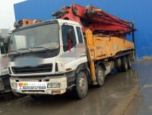 出售09年三一五十铃48米泵车