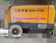 出售14年长沙大重8016拖泵