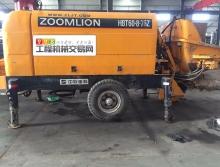 出售10年出厂中联60.08-75闸板拖泵