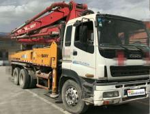 精品转让2009年三一五十铃底盘37米泵车