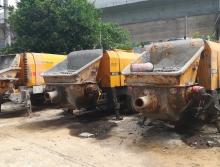 出售三台2011年三一和中联6016-110电拖泵