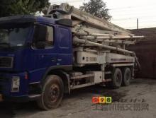 车主直售05年中联沃尔沃37米泵车
