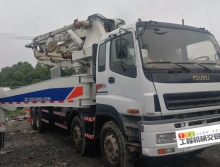 精品出售10年中联五十铃48米泵车