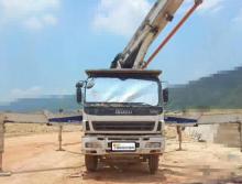 精品转让2010年中联五十铃底盘37米泵车