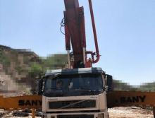 出售04年三一沃尔沃48米泵车