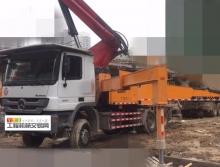 精品裸车出售12年三一奔驰46米泵车