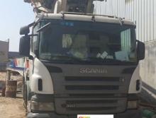 出售09年中联斯堪尼亚52米泵车