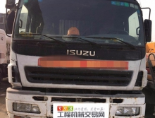 出售07年出厂的三一五十铃37米泵车(绿标)