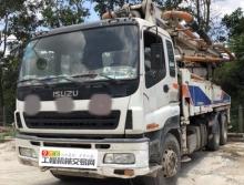 车主直售2011年中联五十铃38米泵车