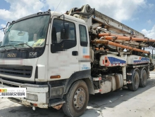出售10年底出厂中联五十铃37米泵车