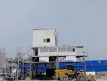 转让2013年建成三一180单线搅拌站