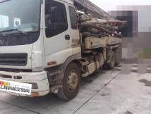 车主转让07年中联五十铃37米泵车(国三绿标)