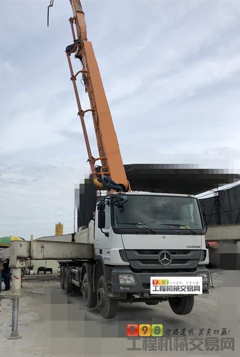 s  基本信息 品牌 中联重科 臂架长度 52米 汽车底盘 奔驰 泵送方量