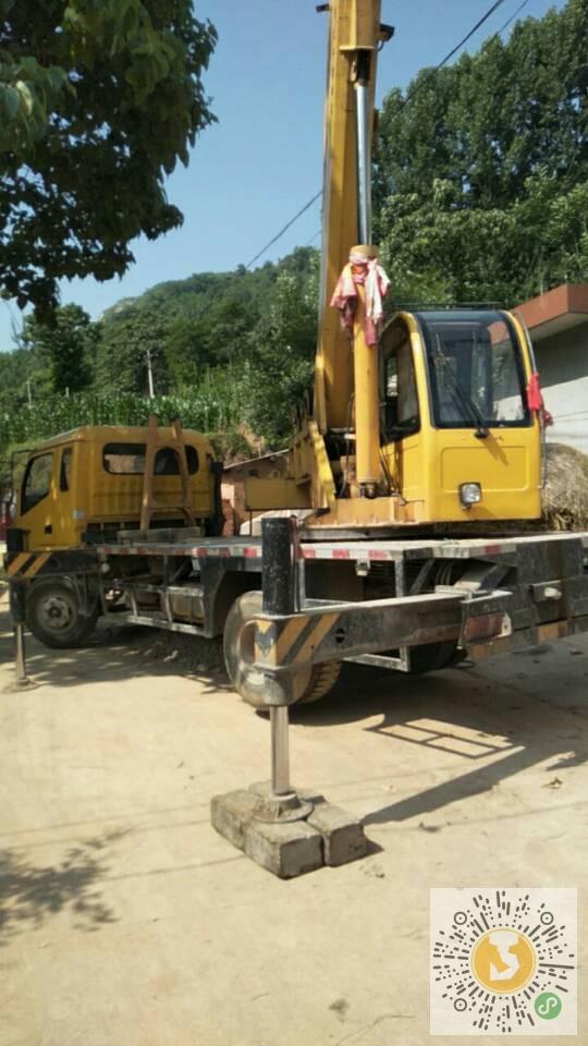 转让森源重工2013年R8T吊车