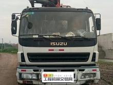 转让2011年9月出厂三一五十铃40米泵车(欢迎索取干活视频)