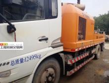 出售国四14年10月出厂中联东风10014车载泵