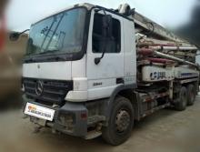 出售08年中联奔驰37米泵车(绿标)