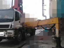 转让07年底三一五十铃45米泵车(大排量绿标)