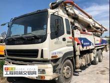 精品出售13年出厂上牌中联五十铃47米泵车
