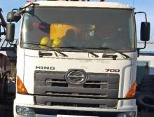 出售精品2012年徐工日野41米叉腿泵车